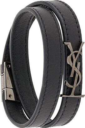 Saint Laurent Opyum double-wrap bracelet