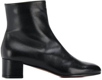 L'Autre Chose Block Heel Ankle Boots