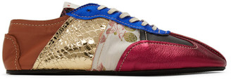 Marni Multicolor Patchwork Sneakers