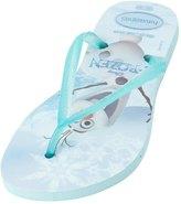 Havaianas Girls' Frozen Slim Flip Flop 8135500