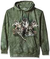 The Mountain Men's Find 12 Wolves Hooded Sweatshirt