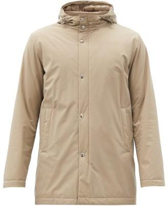 Herno Hooded Technical Parka Jacket - Beige
