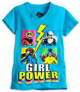 Disney Marvel Super Heroines Tee for Girls by Mighty Fine