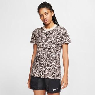 Nike Women's Sportswear Animal Print T-Shirt