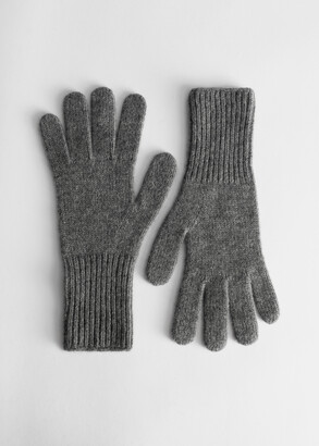And other stories Cashmere Knitted Gloves