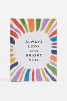 Topshop 'Always Look On The Bright Side' Quote Book