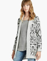 Lucky Brand Metallic Boucle Cardigan