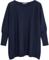 Hawico Carnforth crystal-embellished cashmere jumper
