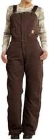 Carhartt Zeeland Sandstone Bib Overalls - Quilt Lined, Insulated (For Women)