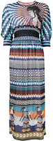 Mary Katrantzou Minoan goddess maxi dress - women - Silk - 10