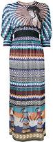 Mary Katrantzou Minoan goddess maxi dress - women - Silk - 8
