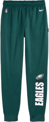 Nike Kids' Dri-FIT Therma NFL Logo Philadelphia Eagles Sweatpants