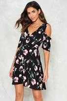 Nasty Gal Hot Fun in the Summertime Floral Dress