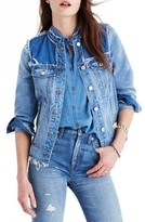 Madewell Women's Distressed Denim Jacket