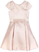 Zoë Ltd Sweet Treat Cap-Sleeve Fit-and-Flare Dress, Blush, Size 2-6X