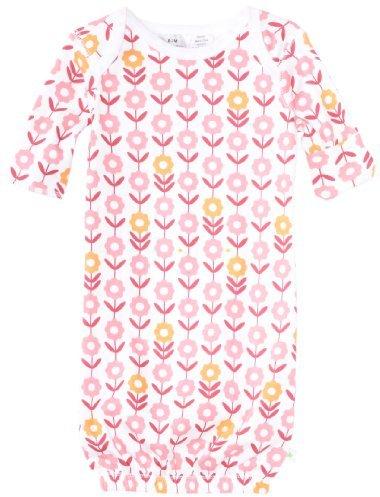 Baby Star Newborn Girl Print Gown