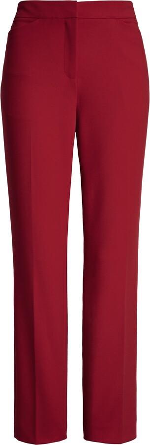 Halogen Kick Flare Ponte Knit Crop Pants