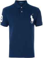 Polo Ralph Lauren logo patch polo shirt - men - Cotton - M