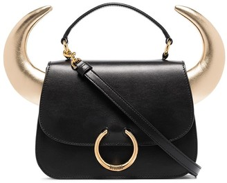Moschino Horn-Detailed Tote