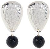 Simon Sebbag Sterling Silver Stone Drop Earrings