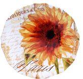Certified International Paris Sunflower 15-in. Round Serving Platter