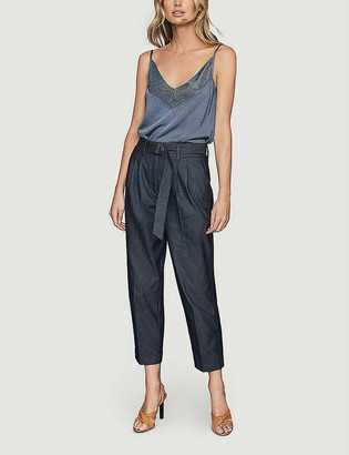 Reiss Jolie slim-fit stretch-knit top