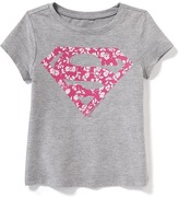 Old Navy DC Comics Supergirl Tee for Toddler Girls