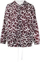 Marni patterned lightweight jacket - men - Cotton/Polyimide - 46
