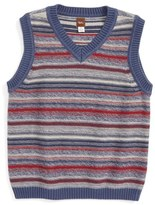 Tea Collection Haru Sweater Vest (Toddler Boys & Little Boys)