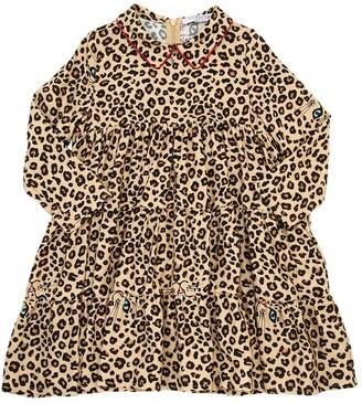 VIVETTA Leo Printed Light Viscose Flannel Dress