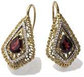 Tatitoto Gioie Women's Earrings in 18k Gold with Garnet, 6.6 Grams