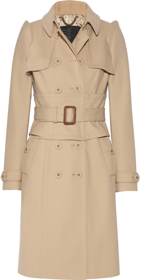 Burberry Cotton-blend twill trench coat