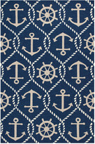 Kas Harbor Hand-Made Indoor/Outdoor Rug