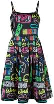 Moschino neon sign dress