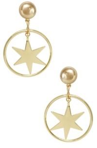 Ettika Dramatic Star Hoop Earrings
