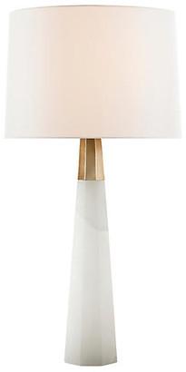 AERIN Olsen Table Lamp - Alabaster/Brass
