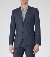 Reiss Geronimo B SLIM-FIT COTTON BLAZER