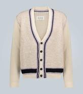 Maison Margiela Knitted cotton-blend cardigan