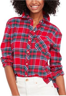 Vineyard Vines Chilmark Tartan Flannel Button-Up Shirt