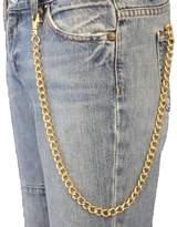 Trendy Fashion Jewelry TFJ Men's Biker Fashion Wallet Chain Keychain Classic Style Metal 25 Inches Long