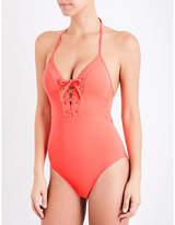 Jets Jetset lace-up swimsuit