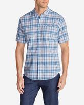 Eddie Bauer Men's Bainbridge II Short-Sleeve Seersucker Shirt