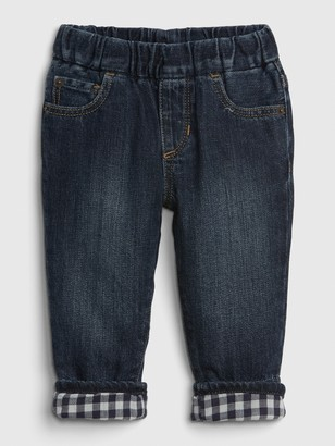 Gap Baby Pull-On Lined Slim Jeans