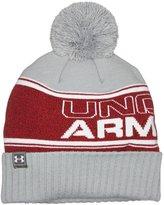 Under Armour 2017 ColdGear Retro UA Pom Pom Beanie Mens Golf Winter Bobble Hat
