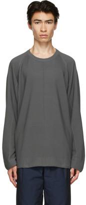 Issey Miyake Grey Knit Flat Sweater