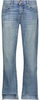 Current/Elliott The Crossover Distressed Boyfriend Jeans