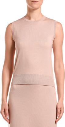 Agnona Wool-Silk Sleeveless Underpinning