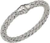 Chimento 18K White Gold Stretch Classic Collection Pyramid Shell Bracelet with Diamonds