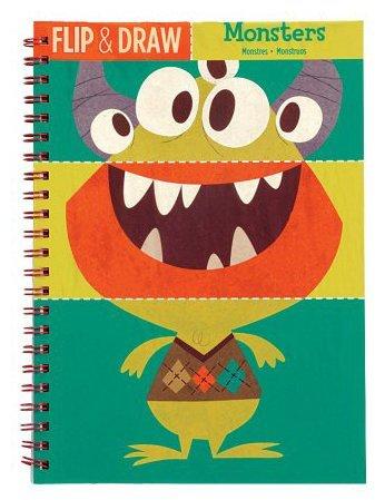 Mudpuppy Monsters Flip And Draw
