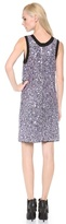 Vera Wang Collection Sleeveless Rhinestone Dress